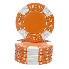 5 chips AK Texas Hold