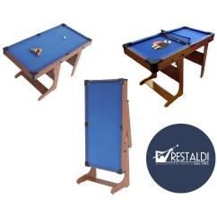 Biliardo pieghevole mod comfort maxi vendita online giochi restaldi - Mini biliardo da tavolo ...