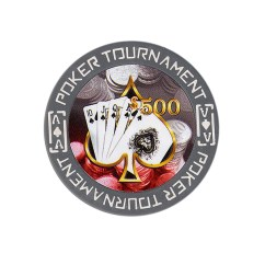 Tournament Poker Fiches Clay - $ 500