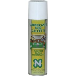 Spray lubrificante per aste calcetto