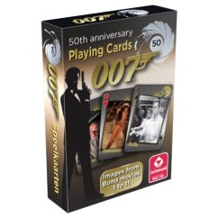 Carte James Bond 50Th