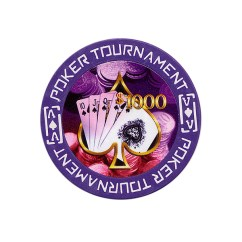 Tournament Poker Fiches Clay - $ 1.000