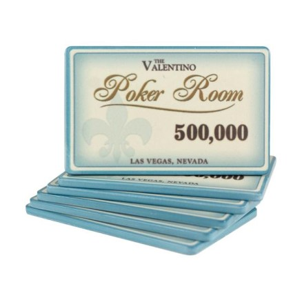 Placca Fiche - Valentino Poker Room 500000